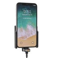 Brodit houder Apple iPhone X/XS (met Lightning USB kabel)