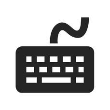 Keyboard mobiele bevestiging