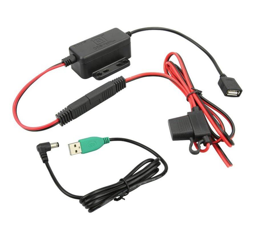 GDS® Modular Hardwire Charger  Female USB -5V Jackplug