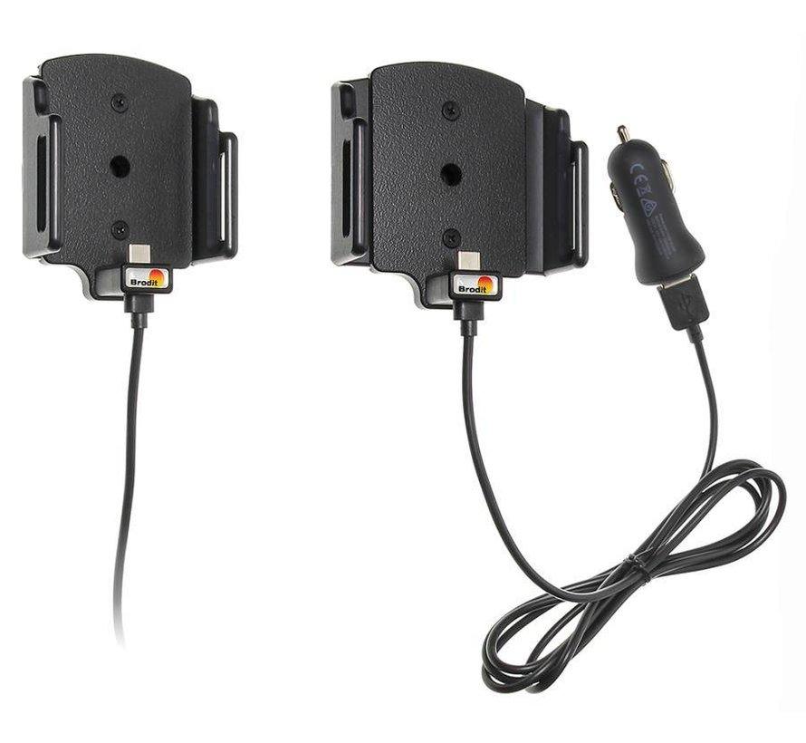 Medium Smartphone houder Universeel 62-77/6-10 met USB-C snoer