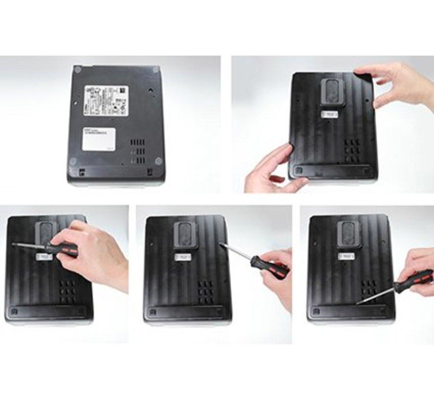 houder Zebra ZD420/620 met MultiMoveClip