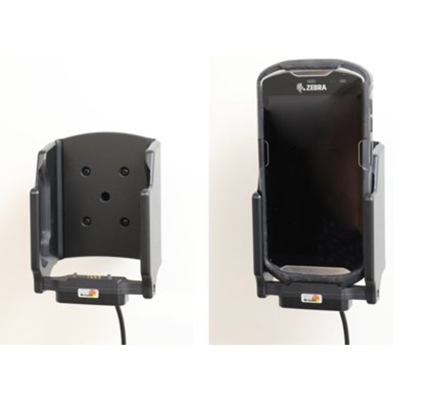 scannerhouderhouder/lader Zebra TC51/TC56 sig.plug - 3A fits boot