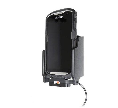 Brodit scannerhouderhouder/lader Zebra TC51/TC56 sig.plug - 3A fits boot