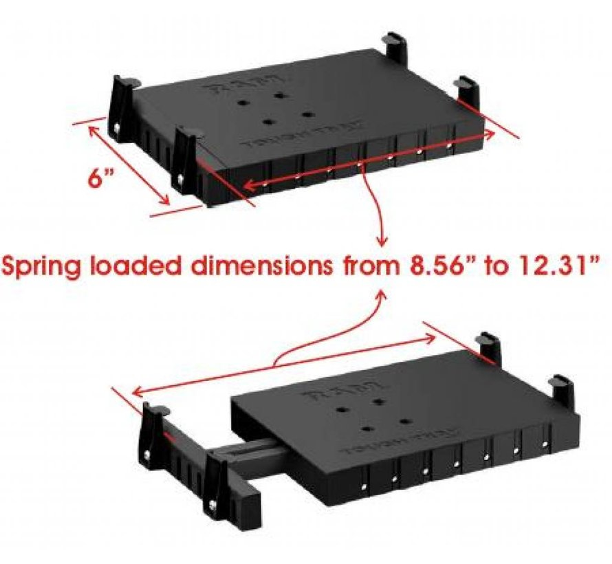 Tough Tray RAM-234-6 kleine laptops (netbooks)