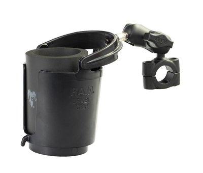 RAM Mount Torque™ stangbevestiging met klemhouder en Zelf-balancerende bekerhouder
