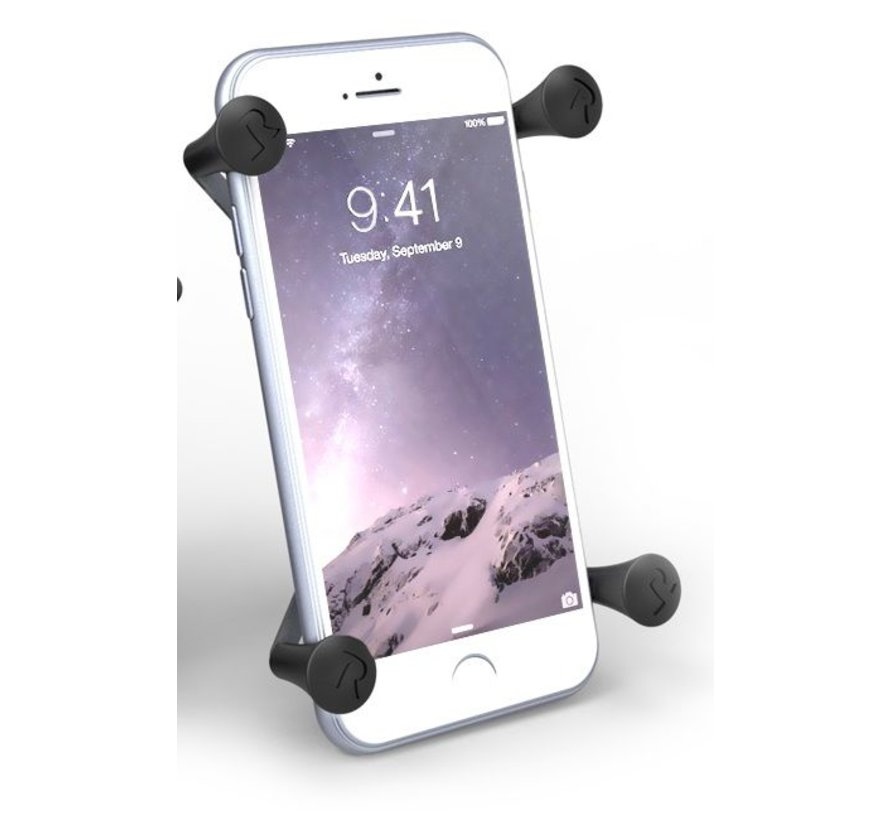 X-Grip iPhone 6/7/8 plus houder stuurstang set - Kort
