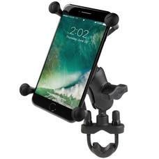 RAM Mount X-Grip iPhone 6/7/8 plus houder stuurstang set - Kort