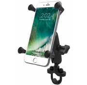 RAM Mount X-Grip iPhone 6/7/8 plus houder stuurstang set- Medium