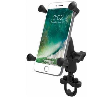 RAM Mount X-Grip iPhone 6/7/8 plus houder stuurstang set- Medium