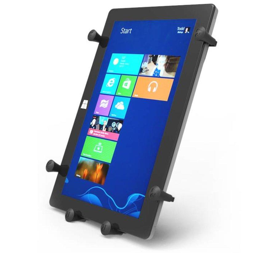 X-Grip 12 inch Tablet Houder Dual Articulating zuignap