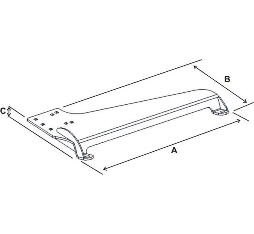 No-Drill™ Laptop Base RAM-VB-173