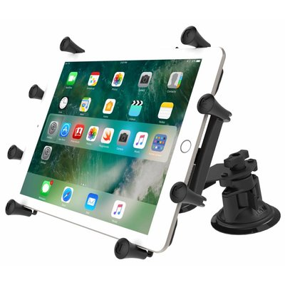 RAM Mount X-Grip 10 inch Tablet Houder Dual Articulating zuignap