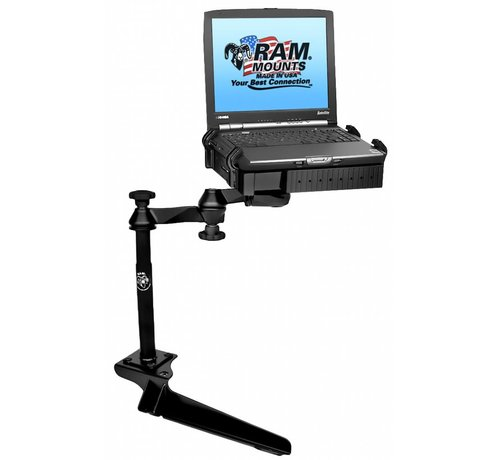 RAM Mount No-Drill™ Laptop Mount for '97-16 Ford F-250 - F750