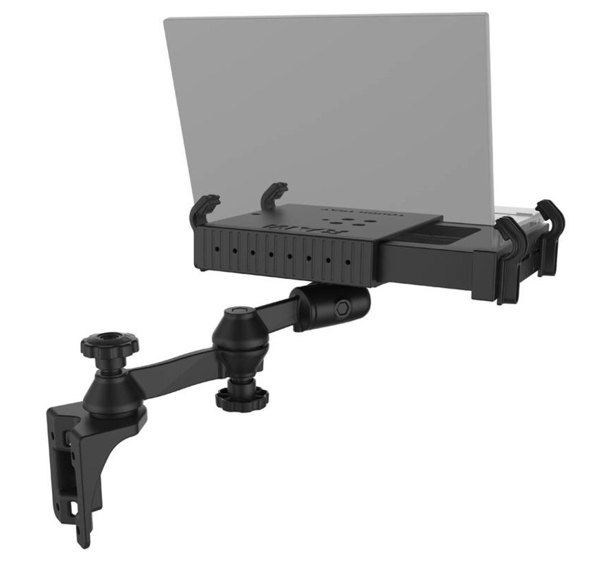 Tough-Tray™ Laptop Holder with Vertical Swing Arm Mount
