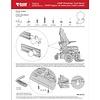 """RAM Mount Rolstoel trackrail mount voor 10"""" tablets"""