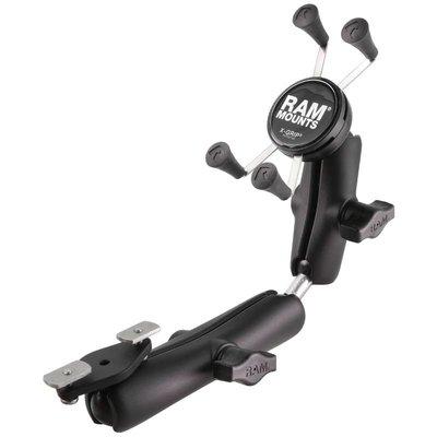 RAM Mount X-Grip smartphone set voor rolstoel armsteunrail