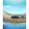 RAM Mount Plakbasis met Tough-Track™ voor opblaasboten RAP-398-BLK-TRACK-AU