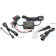 Ultimate Addons Technoglobe motorlader set voor GSM, GPS en Multimedia