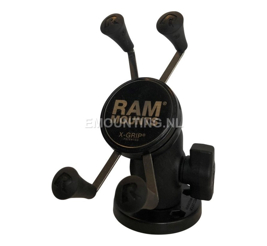 Composiet low profile schroefvaste X-Grip mount RAP-B-200-1-293-UN7U