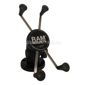 RAM Mount Composiet compacte schroefvaste X-Grip large smartphone montageset