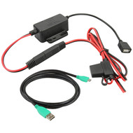 RAM Mount GDS® Modular Hardwire Charger with mUSB Cable