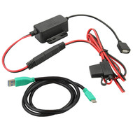 RAM Mount GDS® Modular Hardwire Charger with Type C Cable