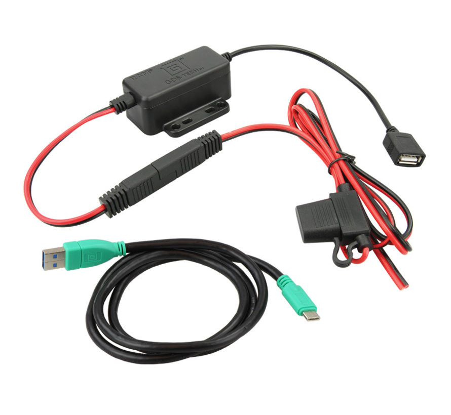GDS® Modular Hardwire Charger with Type C Cable