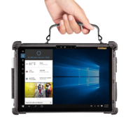 Rugged xCase for Microsoft Surface met Type cover keyboard steun en snap mount