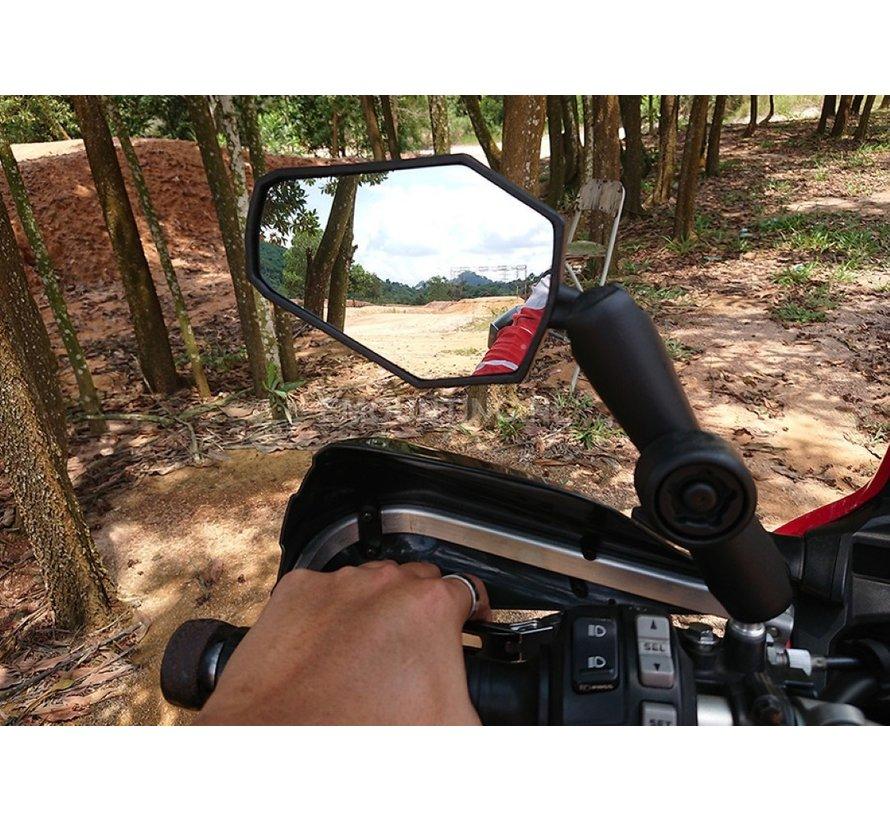 DoubleTake Mirror Adventure met RAM Klemarm lang