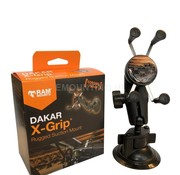 RAM Mount X-Grip Dakar Coronel Proof zuignapset Aluminium klemhouder