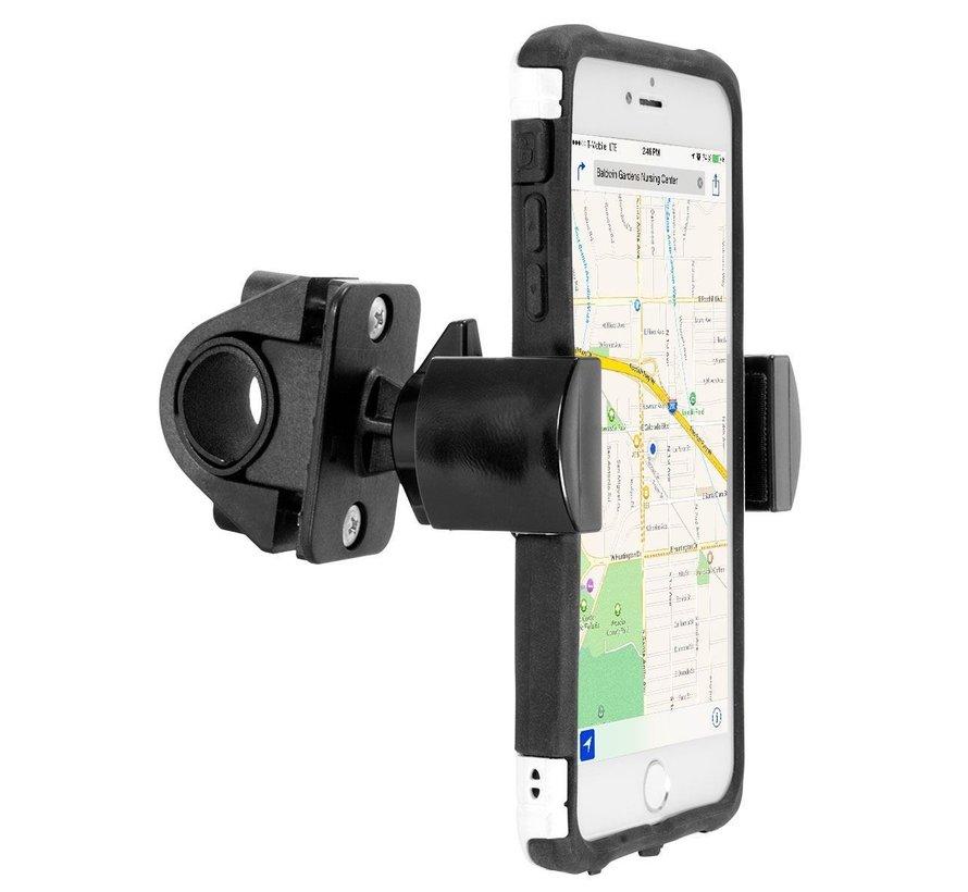 Roadvise universele smartphone houder met stuurbeugel