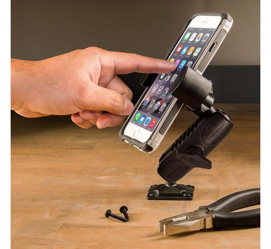 Roadvise universele smartphone houder schroefvaste montage