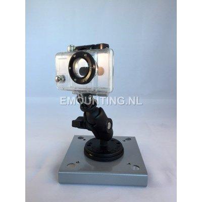 RAM Mount GoPro camera magneet bevestiging set