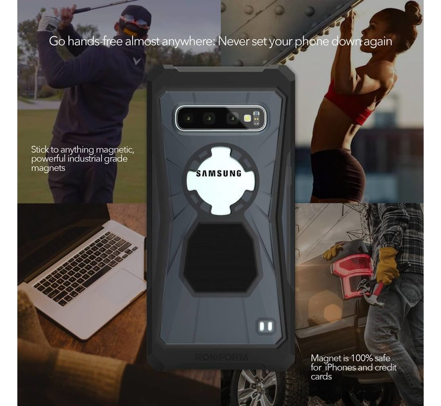 Rugged Case Galaxy S10  Black