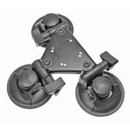 Brodit Triple zuignap base mount