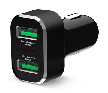 RAM Mount GDS® 2-Port USB Cigarette Charger with Qualcomm® Quick Charge™