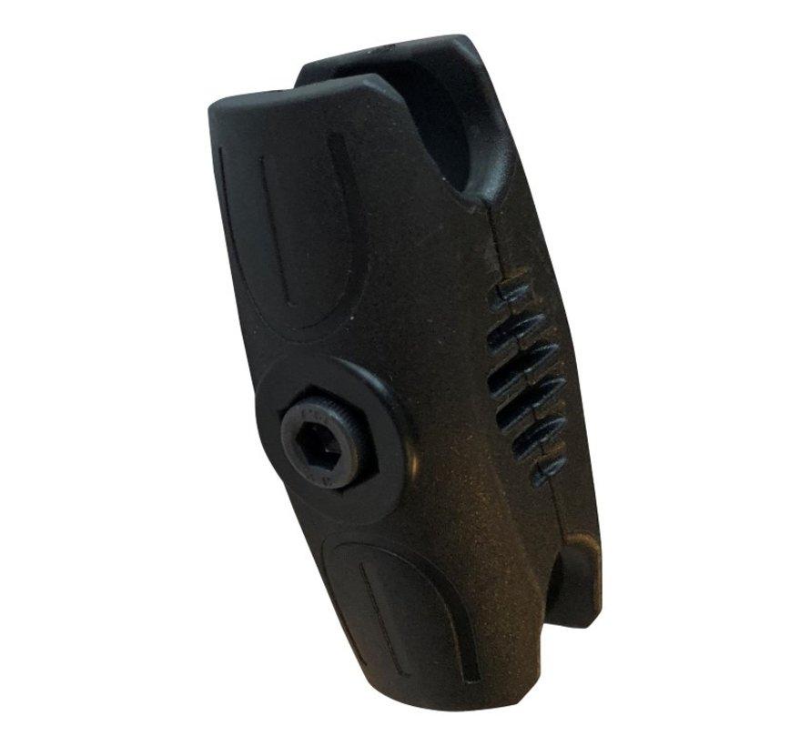 Klemarm kort met anti-diefstal bout (25 mm)