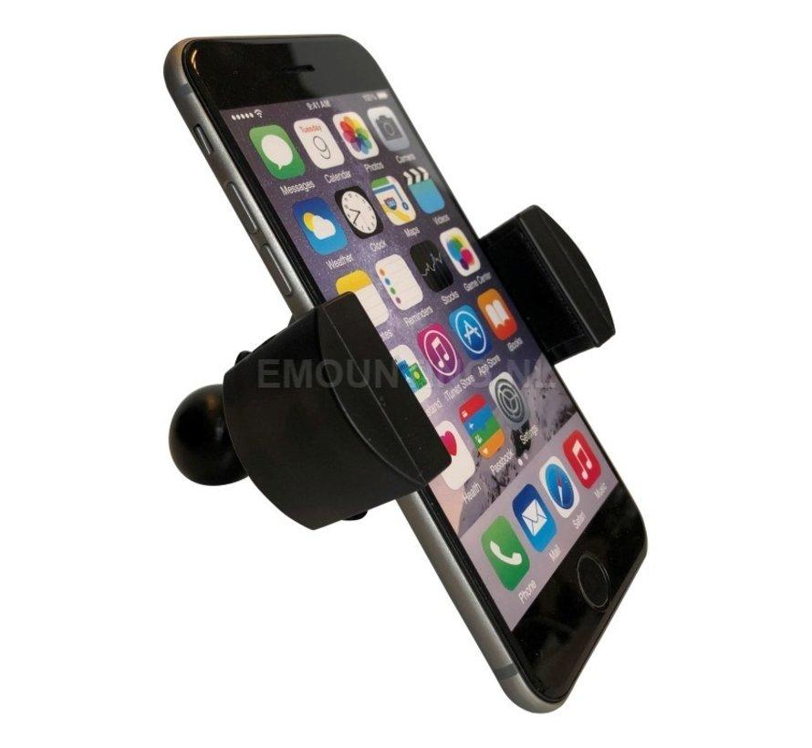 Roadvise universele smartphone houder met 25 mm kogel