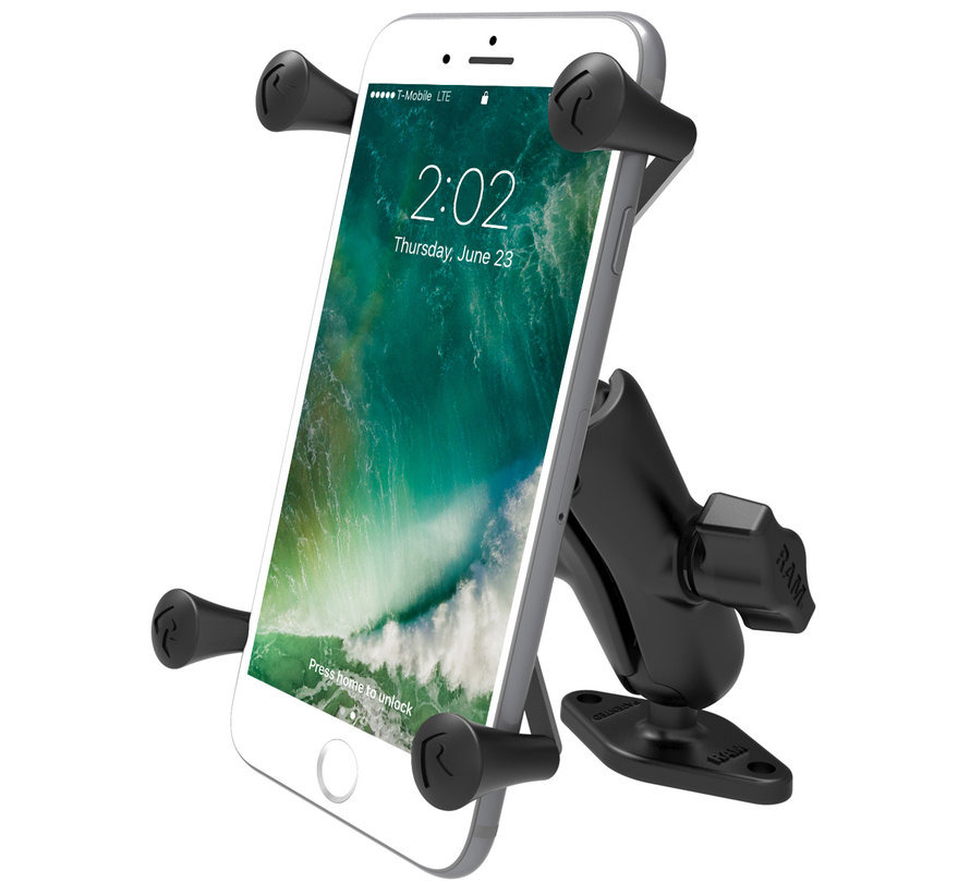 X-Grip smartphone houder large  schroefvast RAM-B-102-UN10U