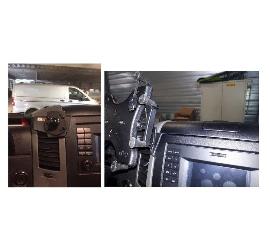 "Tabletmount 10""  X-grip met Proclip Sprinter-VW Crafter 07-16"