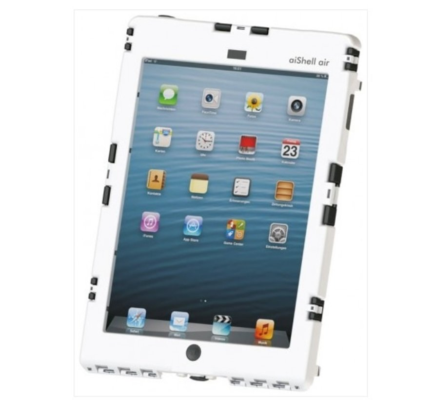 aiShell heavy-duty case iPad  9.7 modellen - Wit