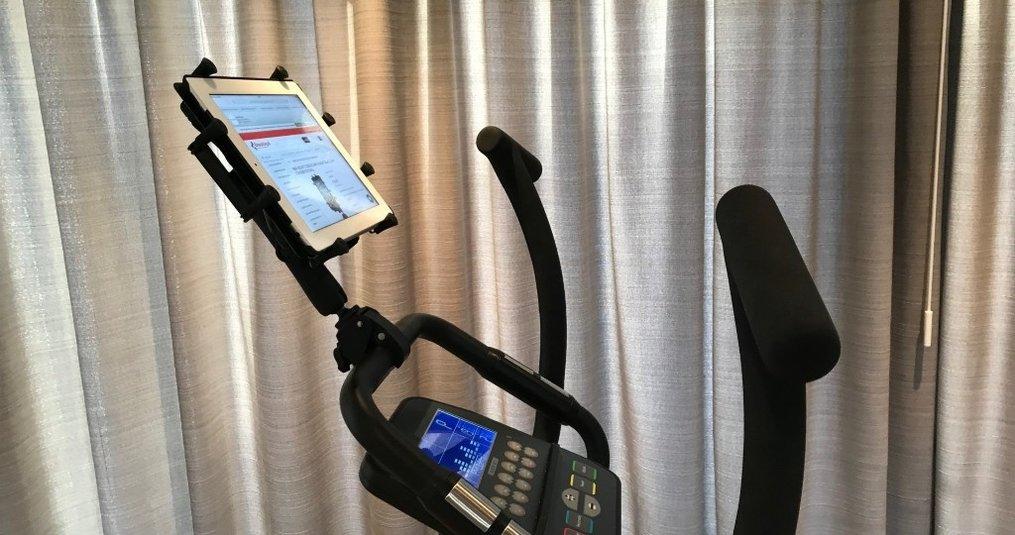 Met Ram Mounts monteer de iPad op je fitnessapparaat