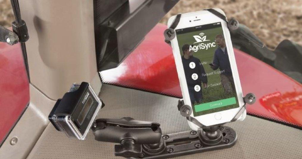 Boer zoek stevige Mount voor smartphone en camera!