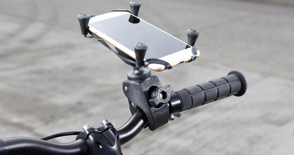 Vanaf 1 juli handsfree met smartphone op je fiets met RAM Mounts!