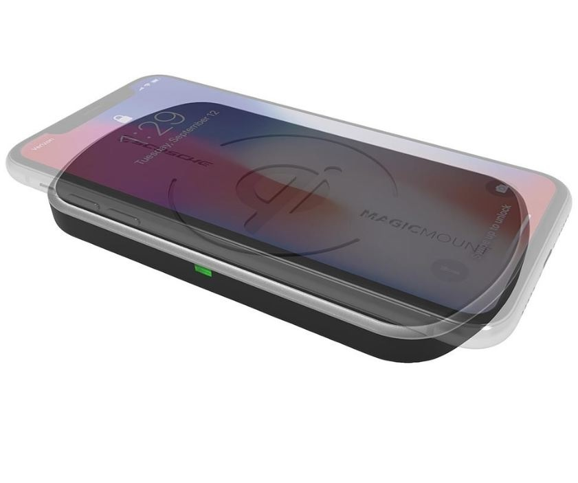 Scosche magicMOUNT™ Qi 10W Wireless Fast Charger Surface