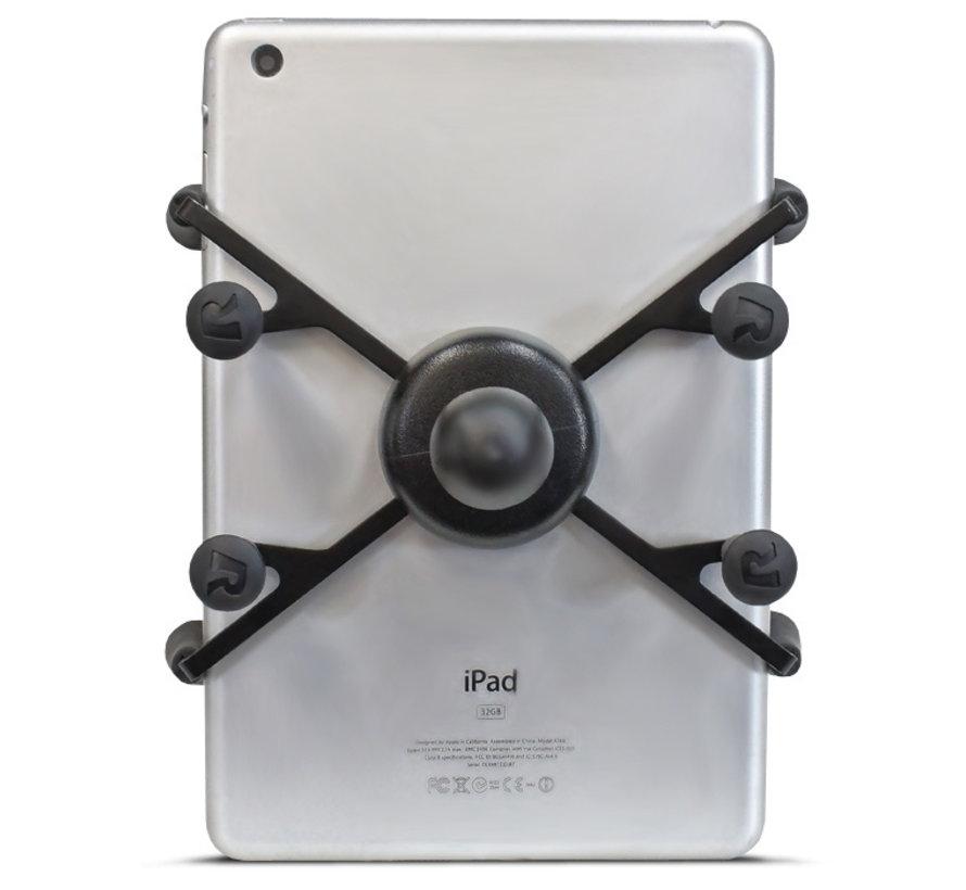 """7-8"""" tablet montageset met 65 cm flexibel statief voor Rolstoelgebruik"""