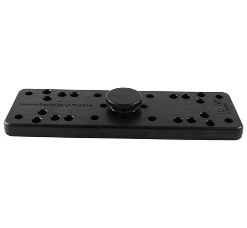 RAM Mount Composite Octagon Button with Universal Electronics Plate  RAP-292U