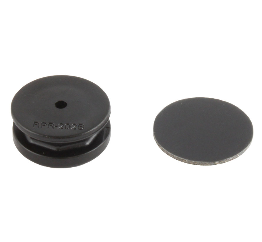 Composite Octagon Button with Adhesive  RAP-277U