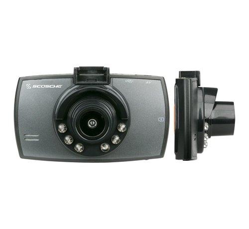 Scosche 1080p HD DVR DashCam w/8GB MicroSD card