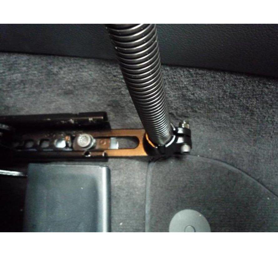 """Pod ™ I voertuigbevestiging met 18 """"aluminium staaf en ronde plaat"""
